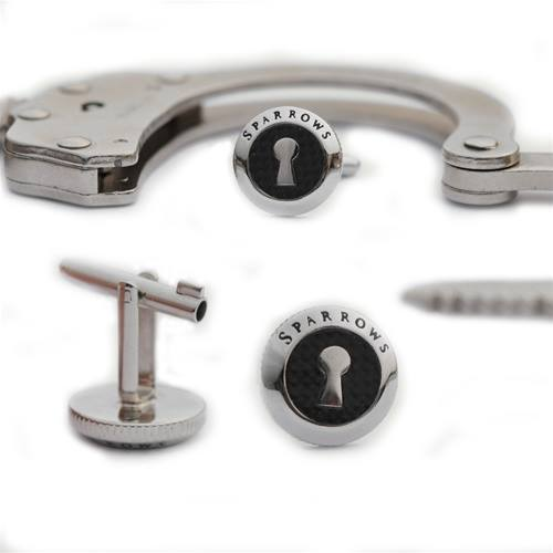 Lockpick cufflinks
